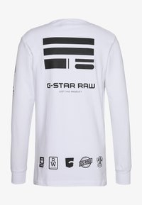 G-Star - MULTI ARM GR SHIELD R T L\S - Long sleeved top - white - 1