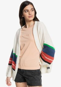 Quiksilver - OUTER SUNSET EQWSW03007 - Cardigan - white str outer sunset - 0
