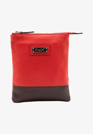 Across body bag - rosso-bordeaux