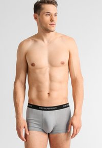 Emporio Armani - STRETCH TRUNK 3 PACK - Shorty - grey/black/white - 0