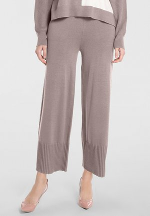 Spodnie materiałowe - taupe