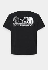 The North Face - COORDINATES TEE - Print T-shirt - black - 6