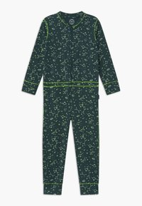 Claesen's - BOYS ONEPIECE - Pyjamas - dark green/light green - 0