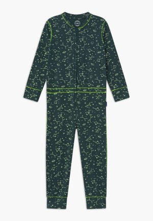 BOYS ONEPIECE - Pyžamo - dark green/light green