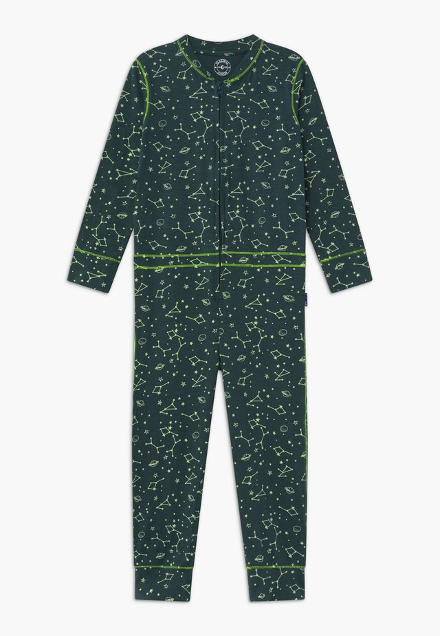BOYS ONEPIECE - Pyjama - dark green/light green