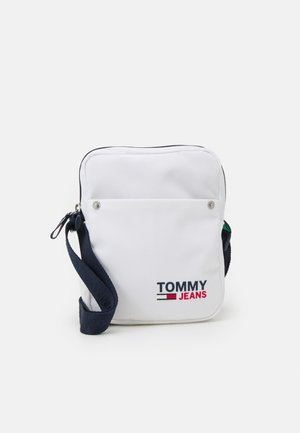 CAMPUS REPORTER UNISEX - Across body bag - white