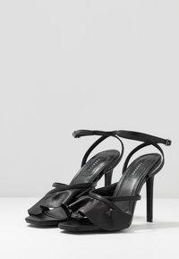 Topshop - ROSIE ANKLE TIE - High heeled sandals - black - 2