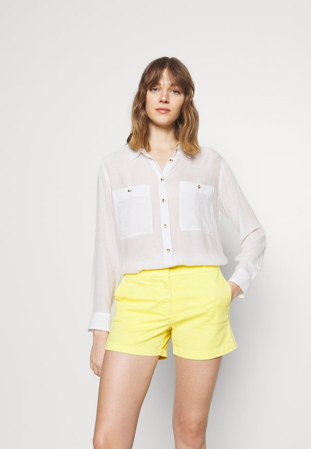 CASUAL BUTTON FRONT  - Camisa - white