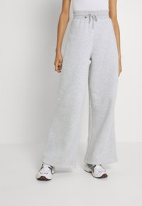 Nly by Nelly - MY BEST PANTS - Tracksuit bottoms - grey melange - 0