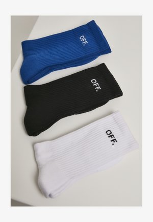 OFF 3-PACK - Ponožky - blue, black, white