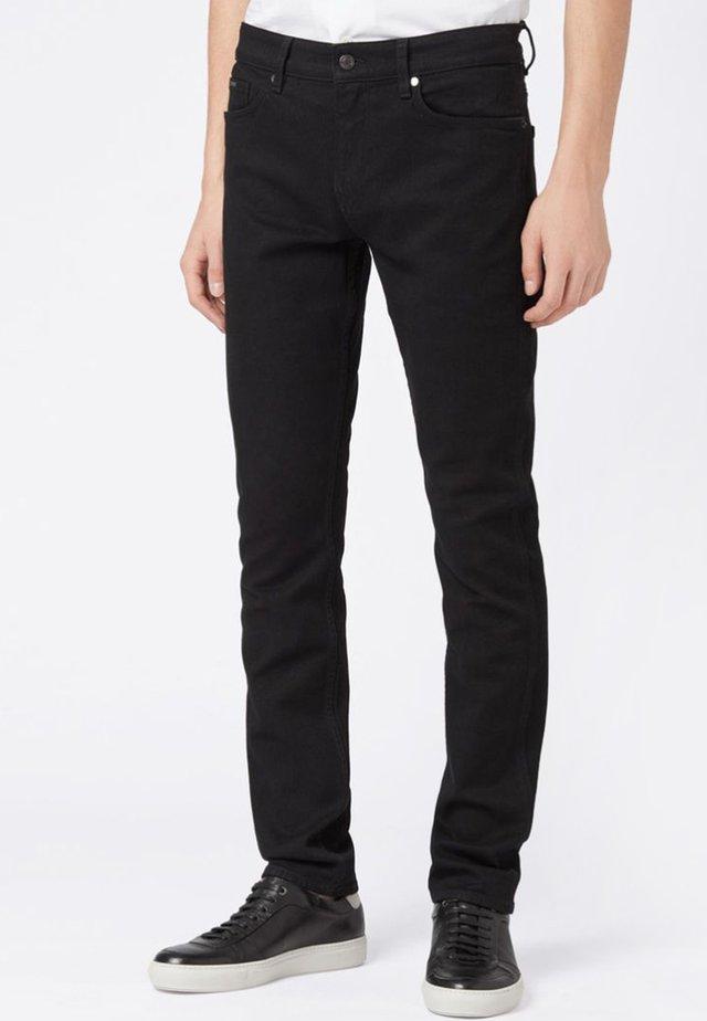 DELAWARE - Jean slim - black