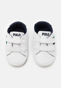 Polo Ralph Lauren - ORMOND LAYETTE - Patucos - white smooth/navy/green - 3