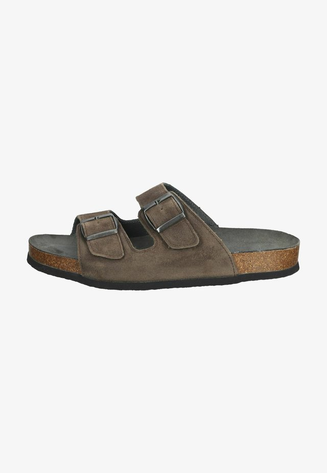 Sandaler - schwarz/grau