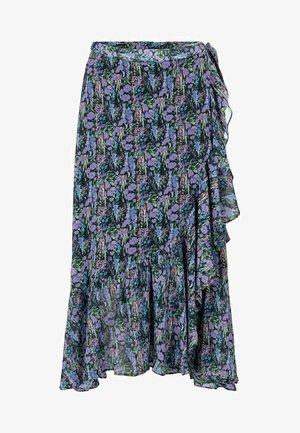 YSESMERALDA - Spódnica trapezowa - black