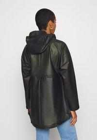 Hunter ORIGINAL - WOMENS ORIGINAL SMOCK - Waterproof jacket - dark olive - 2