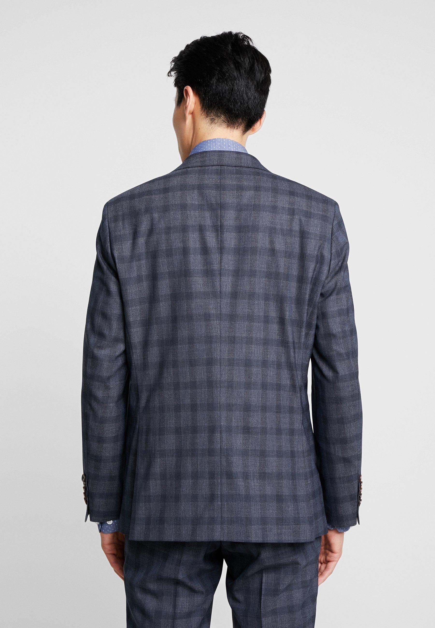 Men SUIT SLIM FIT - Suit - blue