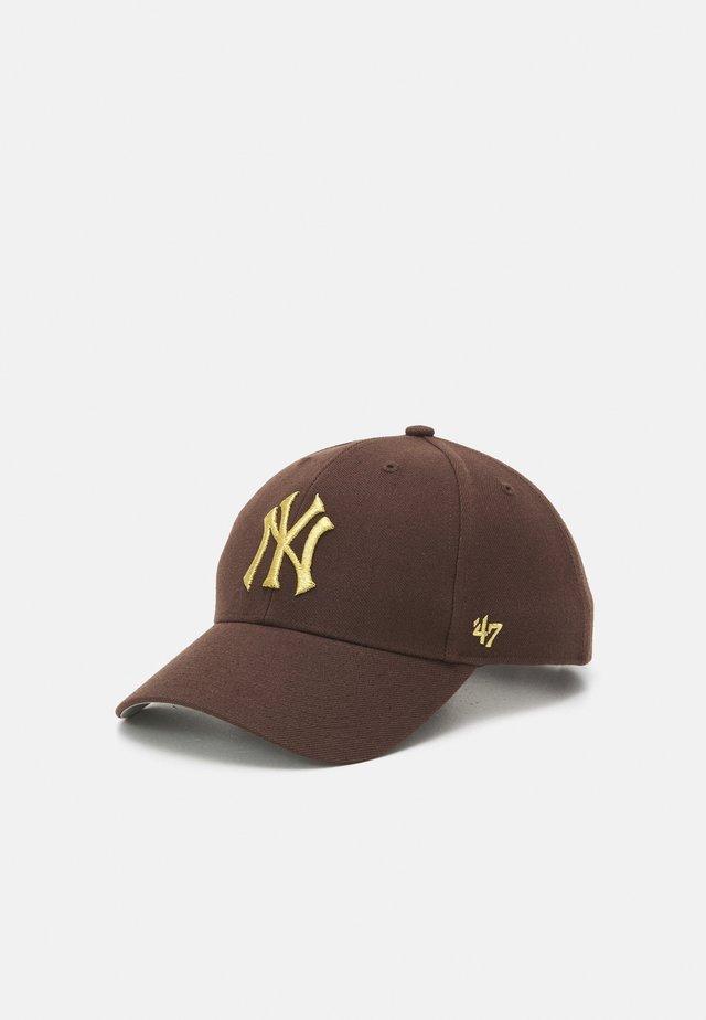 NEW YORK YANKEES SNAP UNISEX - Cap - brown