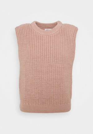 ONLKEYLA  VEST - Strikkegenser - rose dawn