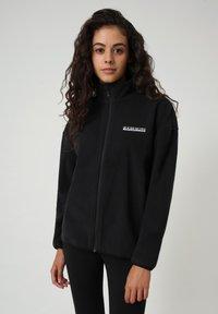 Napapijri - T-BOX FULL ZIP - Fleece jacket - black 041 - 0