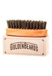 Golden Beards - BEARD BRUSH TRAVEL SIZE - Borstel - - - 1