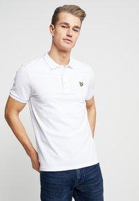 Lyle & Scott - SLIM FIT - Poloshirt - white - 0