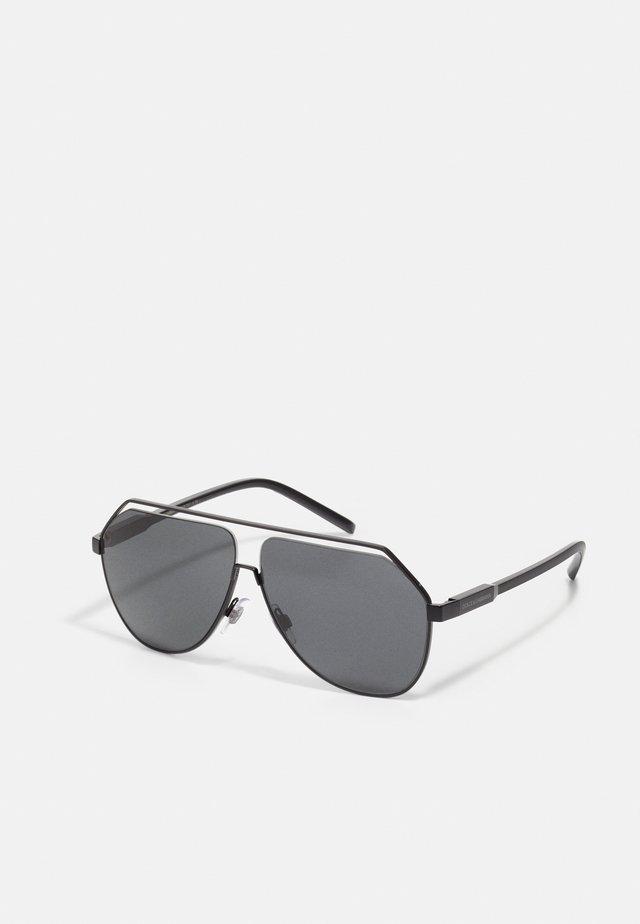 UNISEX - Okulary przeciwsłoneczne - matte black