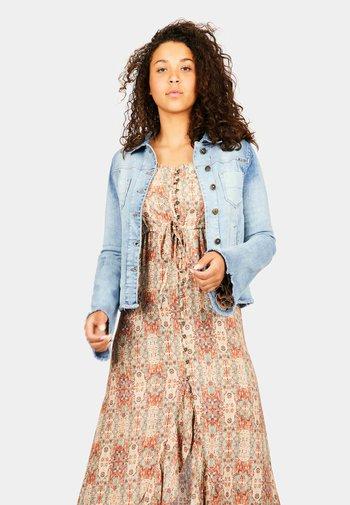 SAN JUAN - Denim jacket - denim blue
