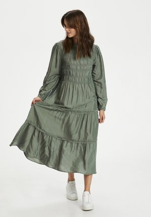 Maxi dress - agave green
