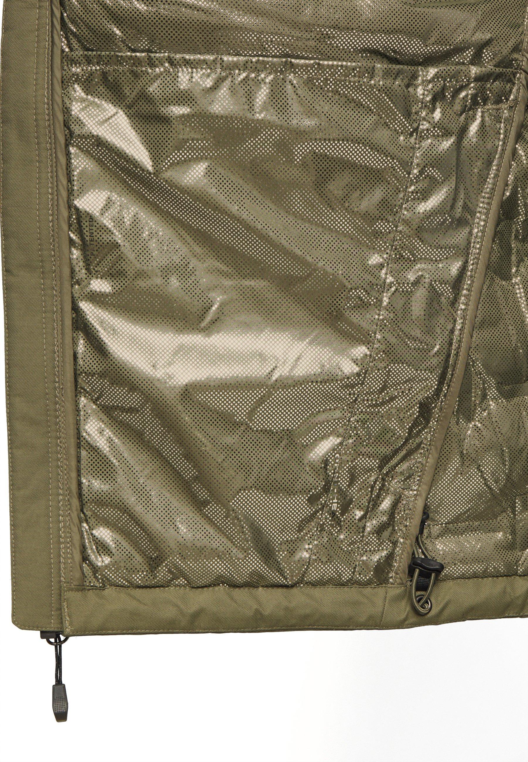 Columbia GRAND TREK JACKET Gewatteerde jas stone green