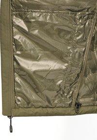 Columbia - GRAND TREK JACKET - Down jacket - stone green - 4