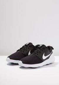 Nike Golf - ROSHE - Golfsko - black/white - 2