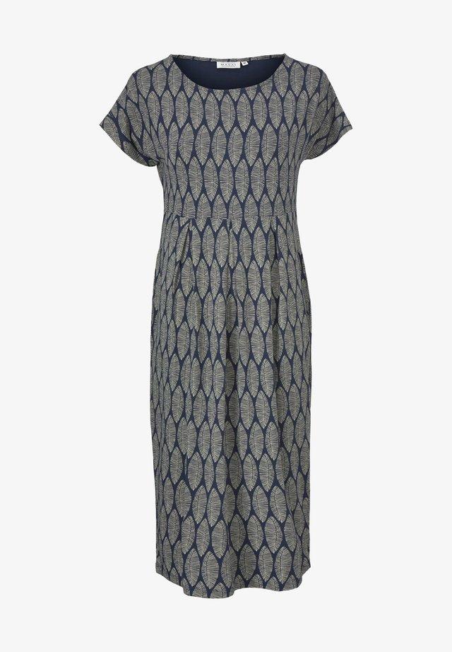 Korte jurk - navy blazer