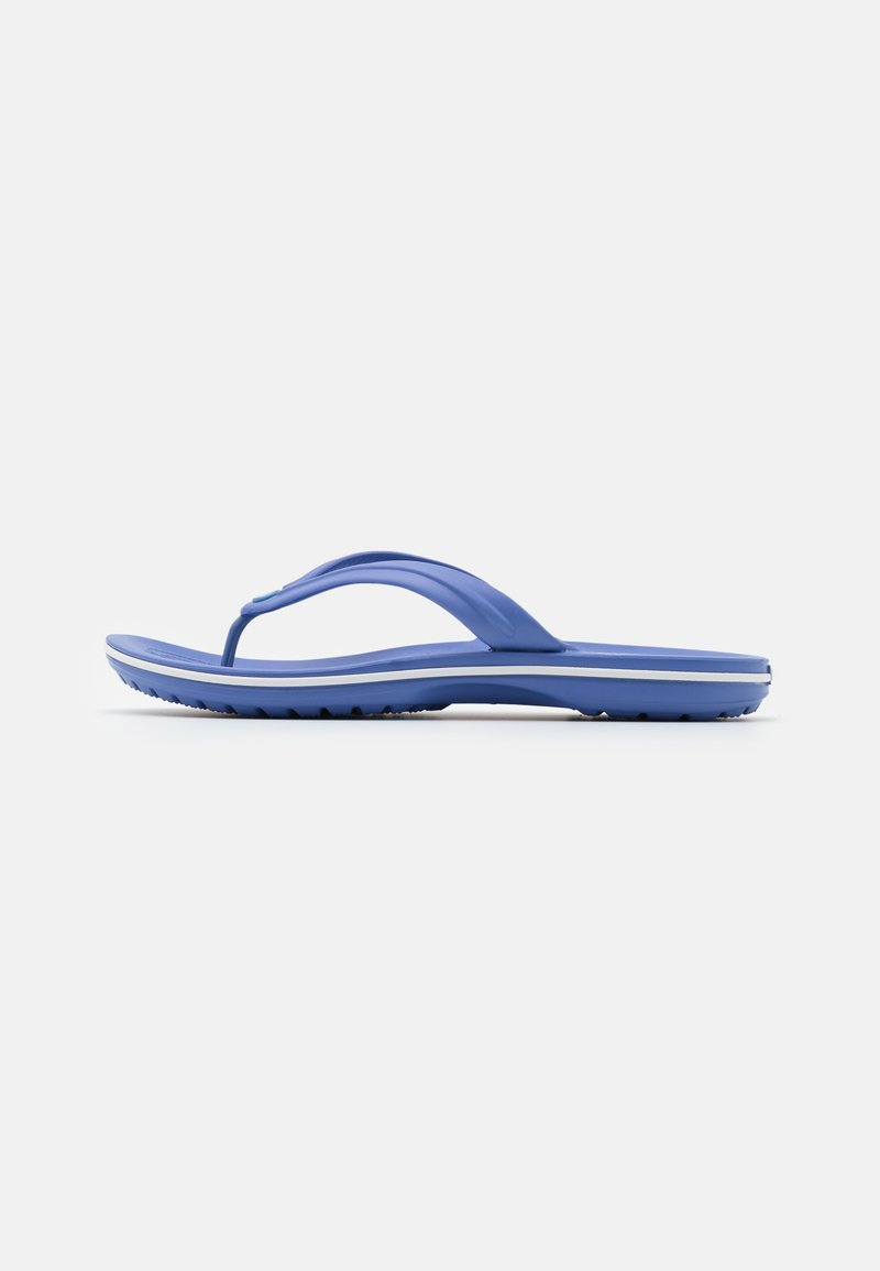 Crocs - CROCBAND FLIP UNISEX - Chanclas de dedo - lapis/white