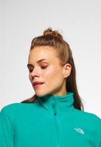 The North Face - WOMENS GLACIER FULL ZIP - Fleecejakke - jaiden green - 3