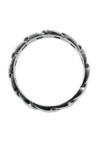 KUZZOI - CHAIN LOOK  - Ring - silver-coloured - 4