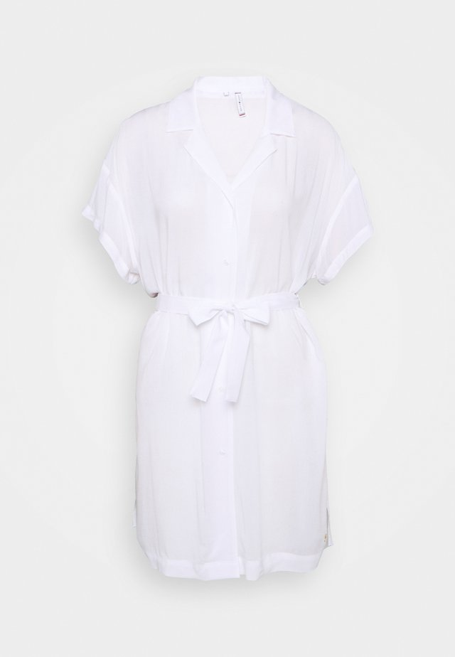 SIGNATURE DRESS - Strandaccessoire - white