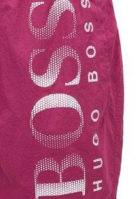 BOSS - OCTOPUS - Swimming shorts - dark purple - 4