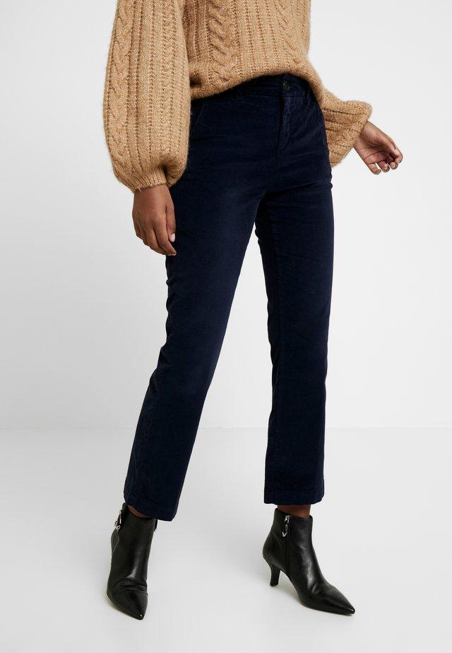 MINX STRETCH - Spodnie materiałowe - marine