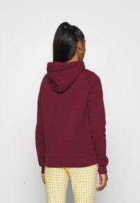 Hollister Co. - TECH CORE  - Sweatshirt - bordeaux - 2
