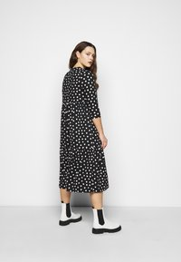 Simply Be - TIERED DRESS - Jersey dress - black - 2