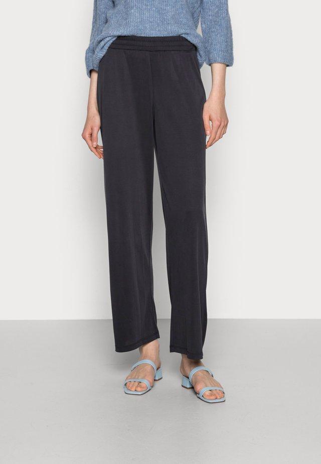 LISE PANTS - Trousers - black deep