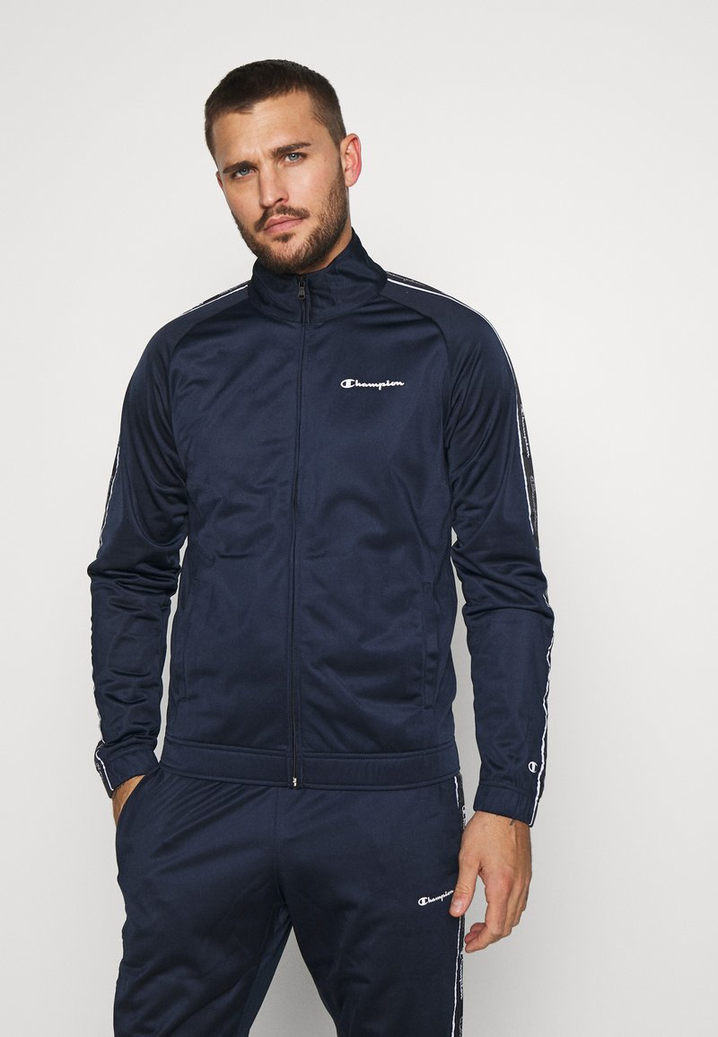 Champion - TRACKSUIT TAPE - Tracksuit - navy