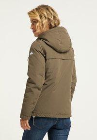 ICEBOUND - Winter jacket - militär oliv - 2