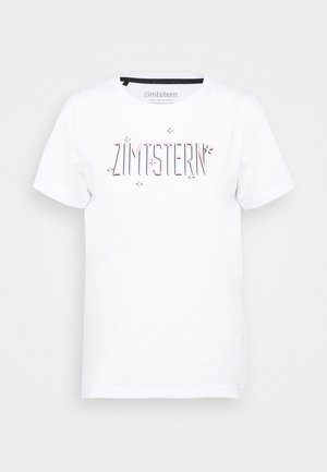 STARDUZT TEE - T-shirts med print - white