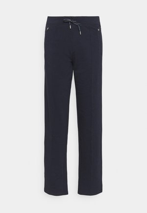 DESIGN BASIC - Tracksuit bottoms - dark blue