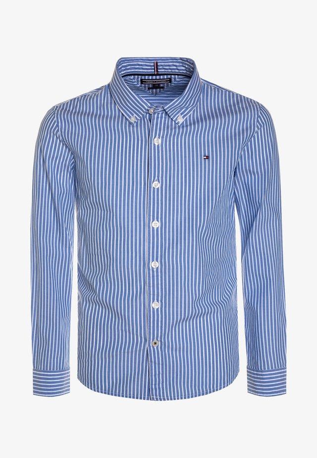 BOYS STRIPE - Skjorta - blue