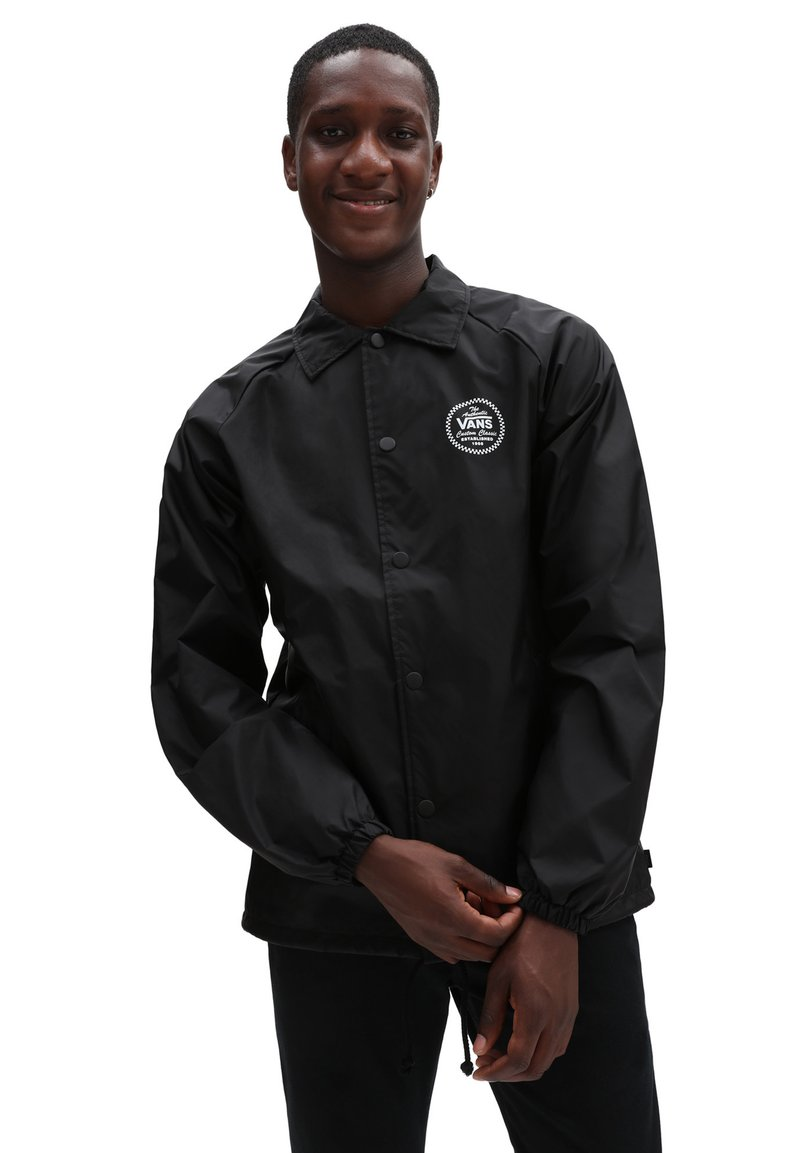 Vans - MN TORREY JACKET - Summer jacket - black