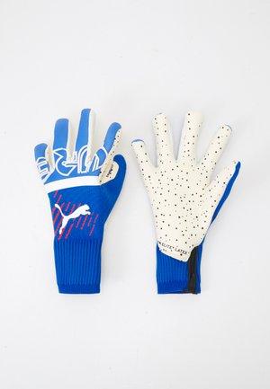 FUTURE GRIP HYBRID UNISEX - Goalkeeping gloves - blueamazing/sunblaze/white