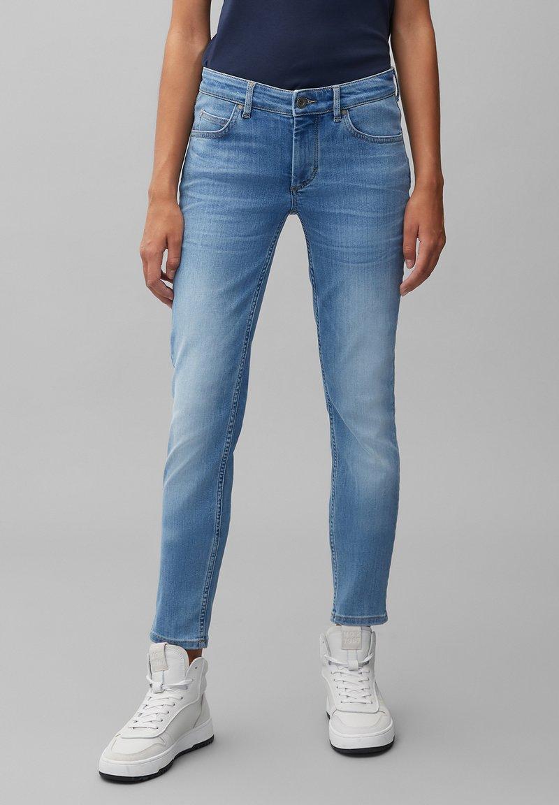 Marc O'Polo - LULEA  - Slim fit jeans - blue softwear wash