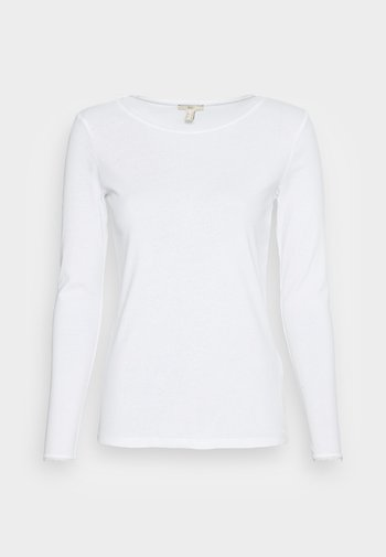 FULL NEEDLE LOND SLEEVE - Långärmad tröja - off white